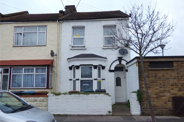 Thumbnail End terrace house for sale in Matcham Road, Leytonstone, London