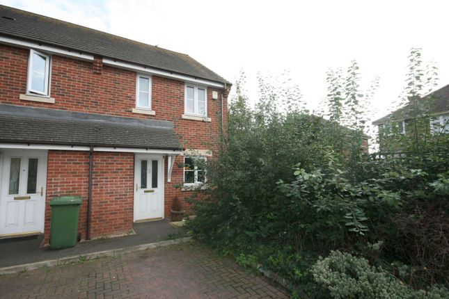 Thumbnail End terrace house to rent in Hemmings Mead, West Ewell, Epsom