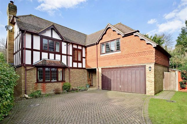 Thumbnail Detached house for sale in Popes Wood, Thurnham, Maidstone, Kent