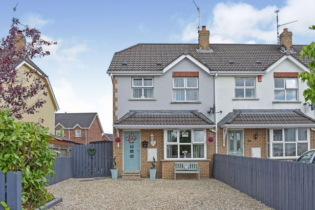 Thumbnail Town house for sale in 75 Carrigart Manor, Craigavon, Co. Armagh