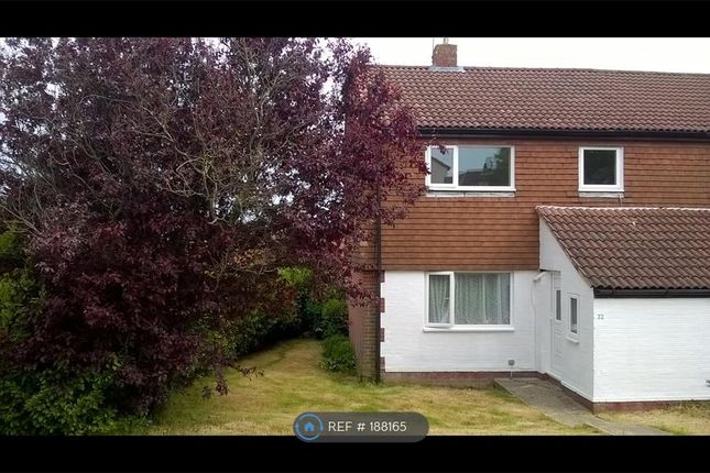 Thumbnail Terraced house to rent in Ranworth Close, Eastbourne