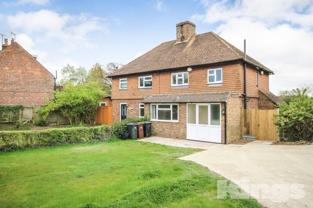 Thumbnail Semi-detached house for sale in Mark Cross, Crowborough