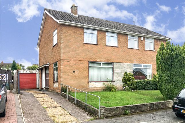 Thumbnail Semi-detached house for sale in Manor House Park, Codsall, Wolverhampton