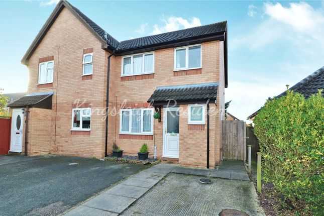 Thumbnail Semi-detached house for sale in Bignell Croft, Highwoods, Colchester, Essex