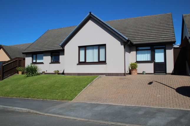 Thumbnail Detached bungalow for sale in Hawthorn Close, Pentlepoir, Saundersfoot