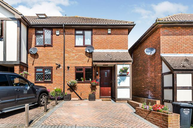 Thumbnail End terrace house for sale in Turner Road, Bean, Kent