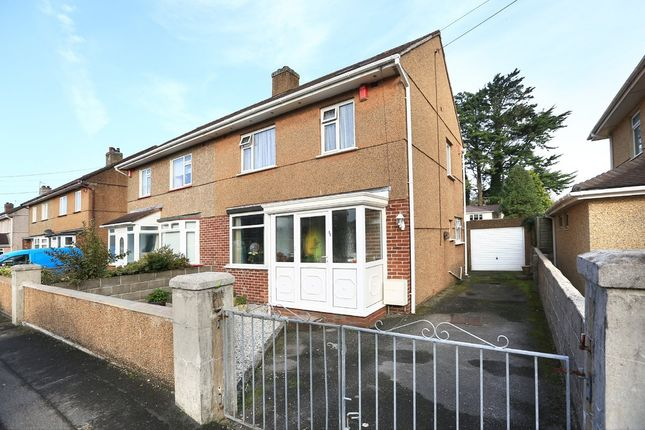 Thumbnail Semi-detached house for sale in Thornyville Villas, Plymstock, Plymouth