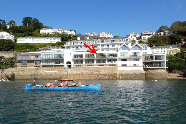 Thumbnail Terraced house for sale in Cliff Road, Salcombe, Devon