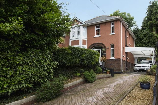 Thumbnail Detached house for sale in Snatchwood Road, Abersychan, Pontypool