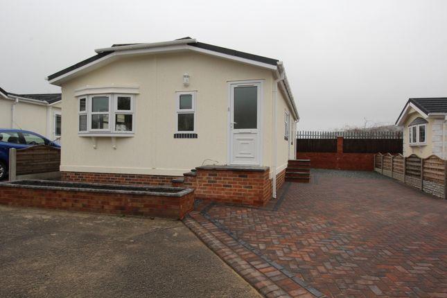 Thumbnail Bungalow for sale in Durham Residential Park, West Sherburn, Durham