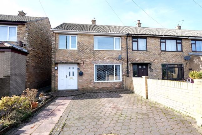 Semi-detached house for sale in Anderson Crescent, Amble, Morpeth