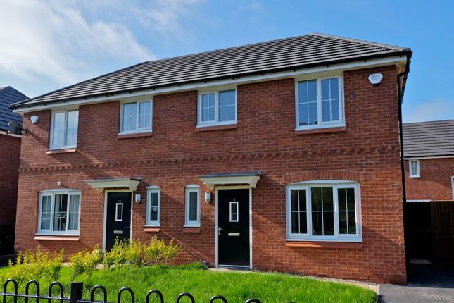 Thumbnail Semi-detached house to rent in Ellesmere Plot 54 Oleander Way, Queen Mary Place, Liverpool