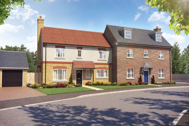 Thumbnail Semi-detached house for sale in The Beech, The Maltings, Benner Lane, West End, Surrey