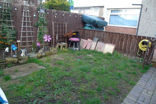 Back Garden of Goodison Way, Darlington, Co Durham DL1