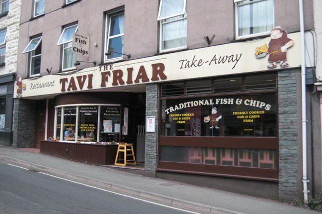 Thumbnail Restaurant/cafe for sale in 73 West Street, Tavistock, Devon