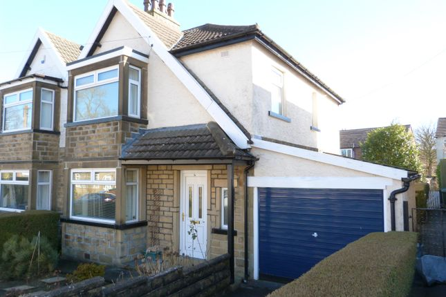 Thumbnail Semi-detached house for sale in Laburnum Grove, Cross Roads, Keighley