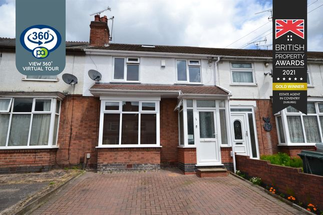 Terraced house for sale in Roman Road, Stoke, Coventry