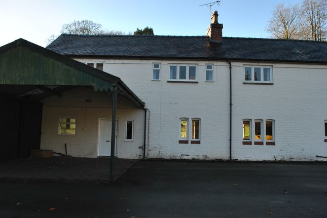 Thumbnail Semi-detached house to rent in Wicksted Hall Cottage, Wirswall, Whitchurch, Shropshire