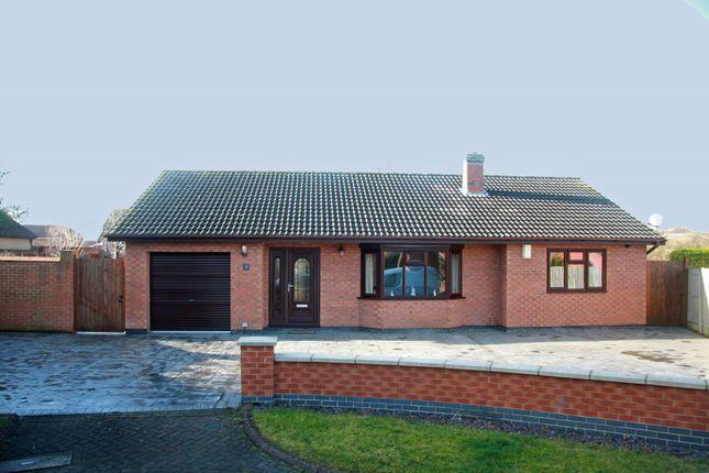 Thumbnail Detached bungalow for sale in Avenue Lourdes, Scunthorpe