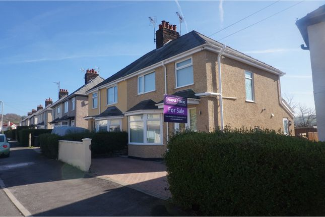 Thumbnail Semi-detached house for sale in Ronald Avenue, Llandudno Junction