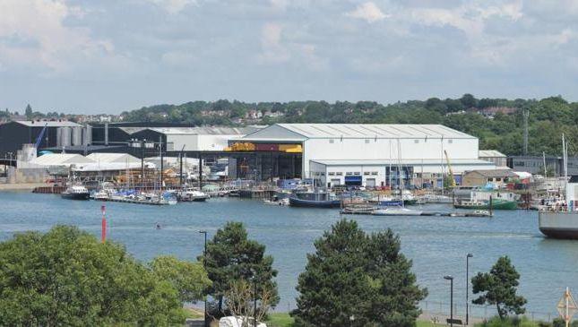 Thumbnail Industrial to let in Merlin Quay, Hazel Road, Southampton