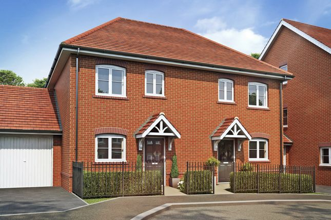 Thumbnail Semi-detached house for sale in Corunna By Bellway, Aldershot