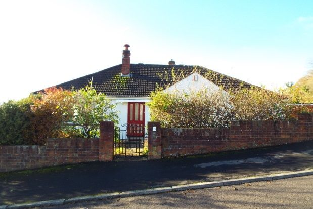 Thumbnail Bungalow to rent in Hillside Close, Wells