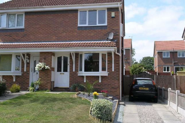 2 bed semi-detached house to rent in Degas Close, Deeside, Flintshire CH5
