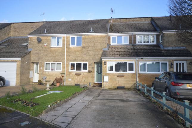 Thumbnail Terraced house for sale in Rose Way, Cirencester