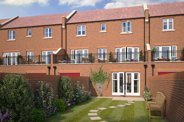 "Thumbnail End terrace house for sale in ""The Hazel"" at Perth Road, Bicester"