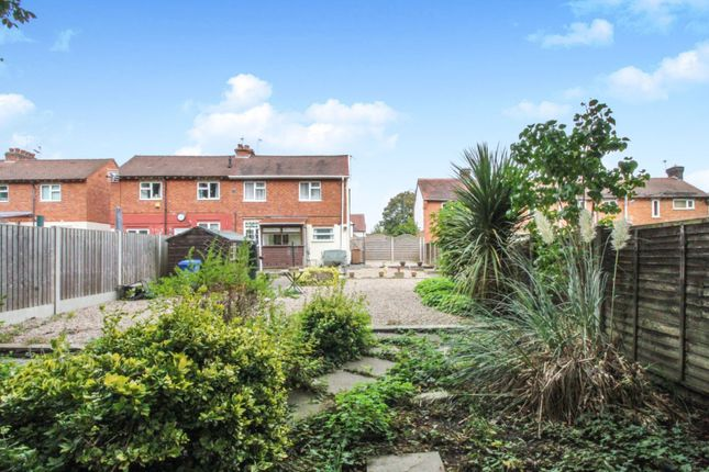 Garden of Lord Street, Allenton, Derby DE24