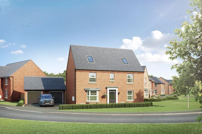 "Thumbnail Detached house for sale in ""Moorecroft"" at Station Road, Warboys, Huntingdon"