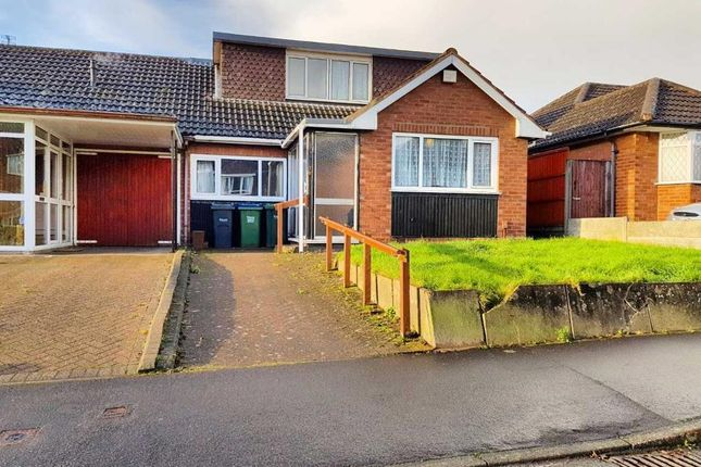 Thumbnail Semi-detached bungalow for sale in Andrew Road, West Bromwich, West Midlands