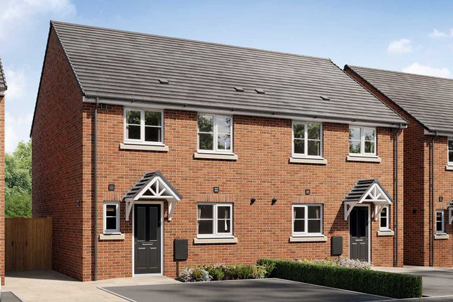 """Thumbnail Semi-detached house for sale in """"The Eveleigh"""" at Village Street, Runcorn"""