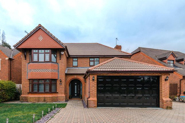 Thumbnail Detached house for sale in Finch Crescent, Mickleover, Derby
