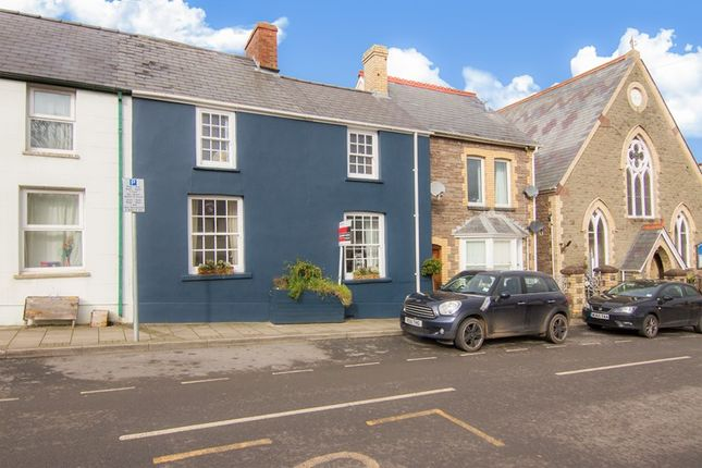 Thumbnail Terraced house for sale in Main Road, Gilwern, Abergavenny