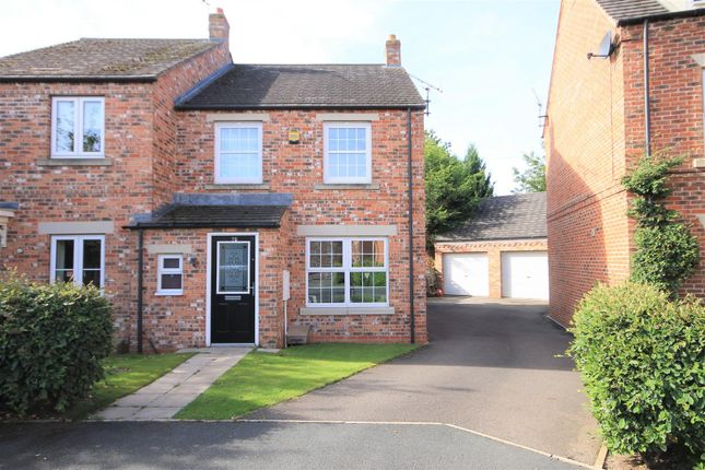 Thumbnail Semi-detached house for sale in Allerton Close, Northallerton