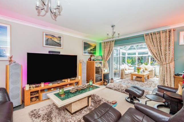 Living Room of Blackwater Drive, Totton, Southampton SO40