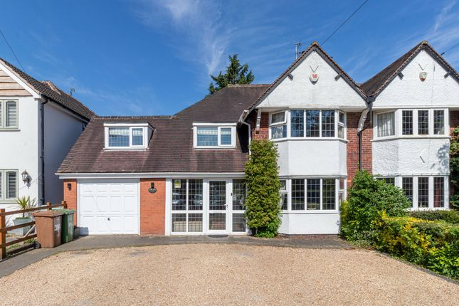 4 bed semi-detached house for sale in Tilehouse Lane, Tidbury Green, Solihull B90