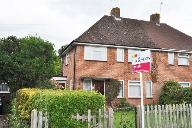 Thumbnail Semi-detached house for sale in Wingate Road, Totton, Southampton