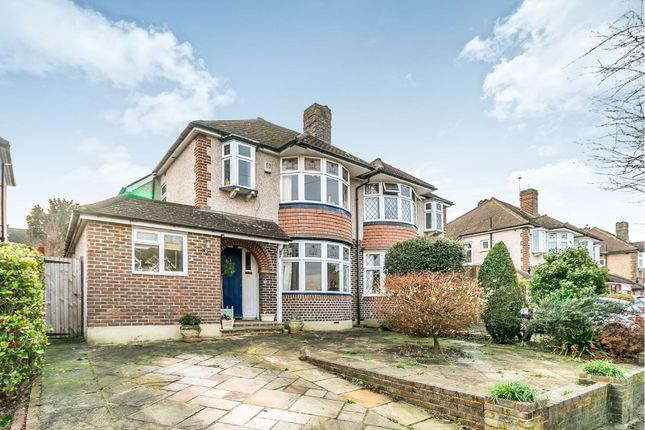 Thumbnail Semi-detached house for sale in Highdown, Worcester Park