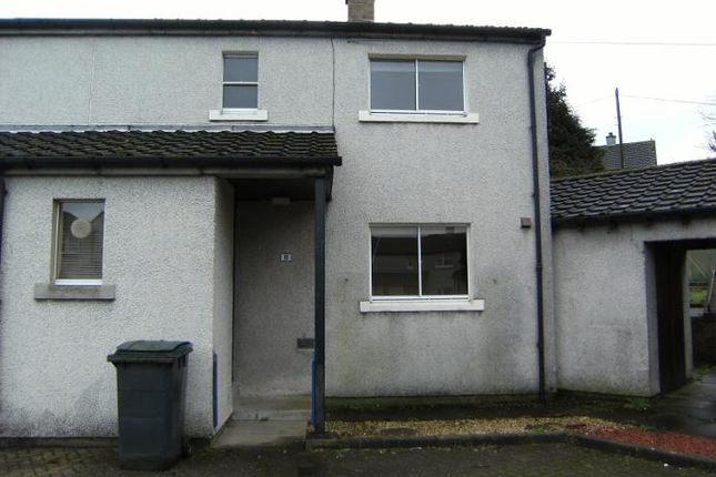 Thumbnail End terrace house to rent in John Crabbe Crescent, Kirkton, Dumfries