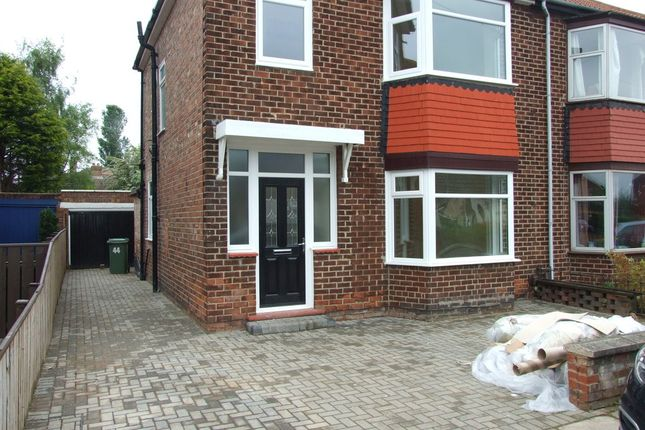 Thumbnail Semi-detached house to rent in Grosvenor Road, Billingham