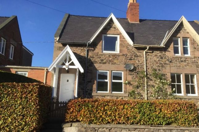 Thumbnail Semi-detached house for sale in Howtel Farm Cottages, Mindrum