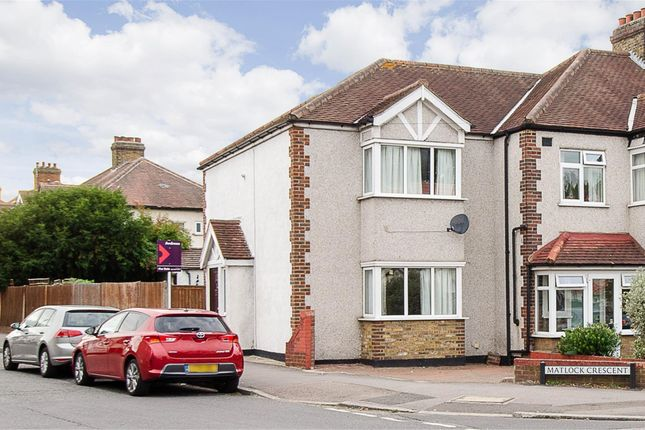 Thumbnail End terrace house for sale in Matlock Crescent, Cheam, Surrey