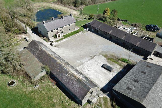 Thumbnail Detached house for sale in Pant Farm, Llanboidy Road, Meidrim, Carmarthen