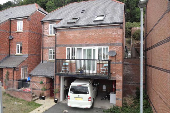Thumbnail Detached house for sale in Woodland Way, Llanllwchaiarn, Newtown, Powys