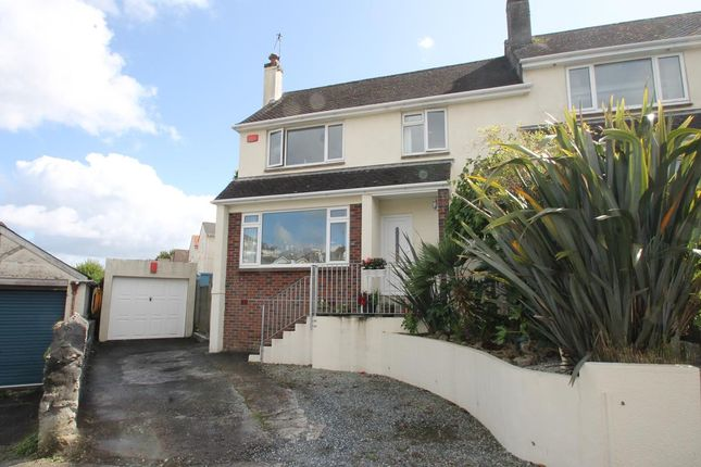 Thumbnail Semi-detached house for sale in Compton Park Road, Mannamead, Plymouth, Devon