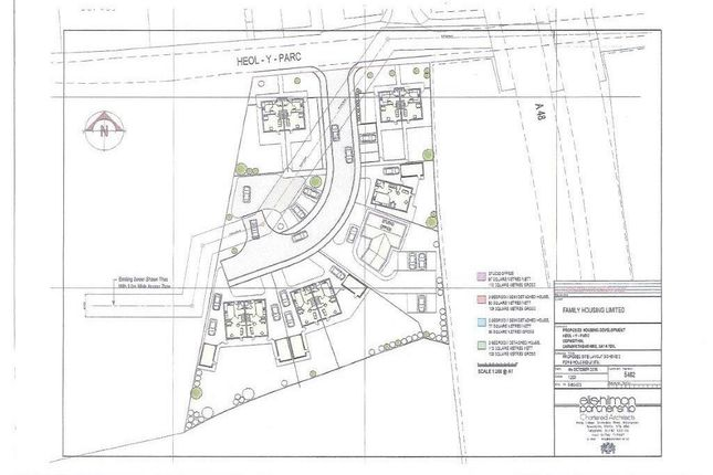 Thumbnail Land for sale in Heol Y Parc, Cefneithin, Llanelli