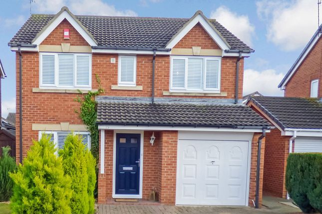 Thumbnail Detached house for sale in Annfield Road, Cramlington